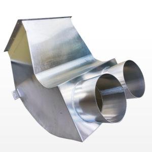 金属加工製品:アルミダクト/A5052 t2.0