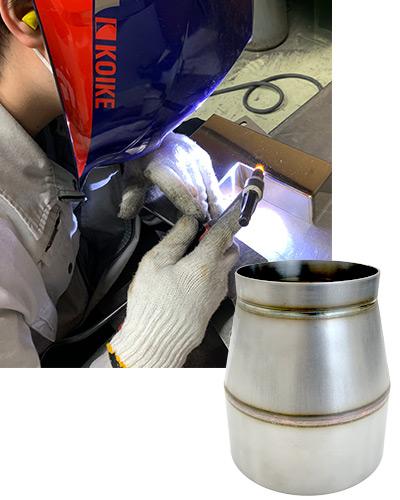 鉄・ステンレス・アルミなど金属の溶接加工